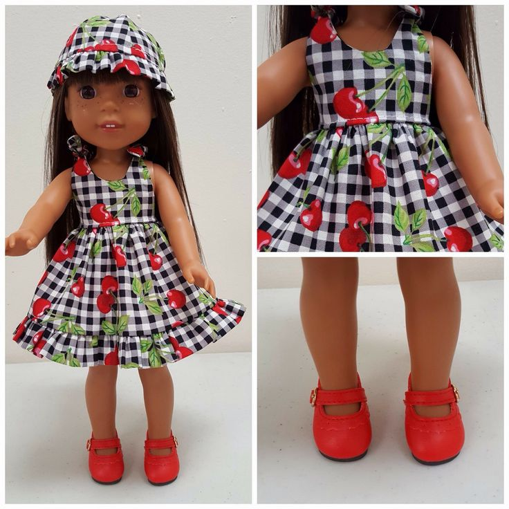Handmade Doll Clothes for Wellie Wishers and American Girl. https://mysistersdollclothes.patternbyetsy.com/?utm_content=buffer908e9&utm_medium=social&utm_source=pinterest.com&utm_campaign=buffer  #welliewisher #americangirl #dollshoes # ag