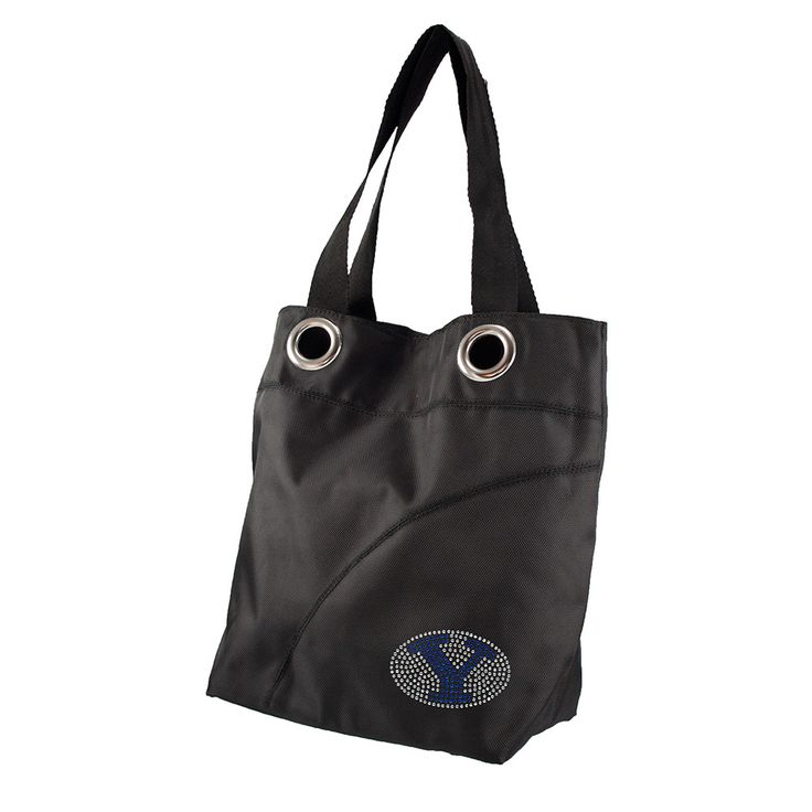 Brigham Young Cougars NCAA Sport Noir Sheen Tote