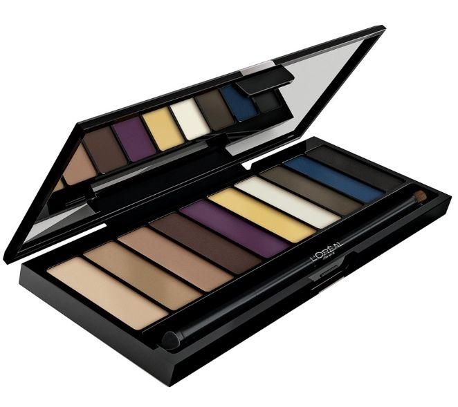 Εμπνευσμένη από τους επαγγελματίες make-up artists, η παλέτα Color Riche La Palette Smoky από τη L'Oreal Paris έχει σχεδιαστεί για να δημιουργήσετε το απόλυτο smoky μακιγιάζ! Μία μοναδική επιλογή από 10 έντονες και σαγηνευτικές αποχρώσεις σας χαρίζει διαφορετικά smoky looks, που θα σας κάνουν