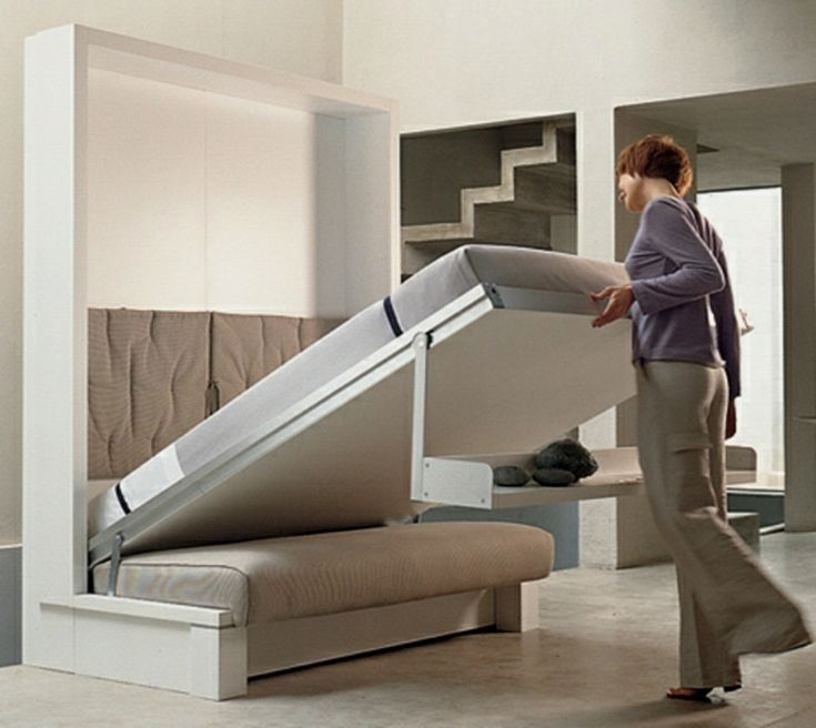 First Space Saving Folding Bed. Space Saving #folding #bed