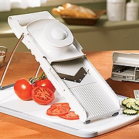 Pampered Chef Mandoline - just used this again today and was reminded how much I love it!