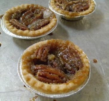 Buttery Pecan Tarts just like from our summer vacation days at the cottage at the lake in Canada