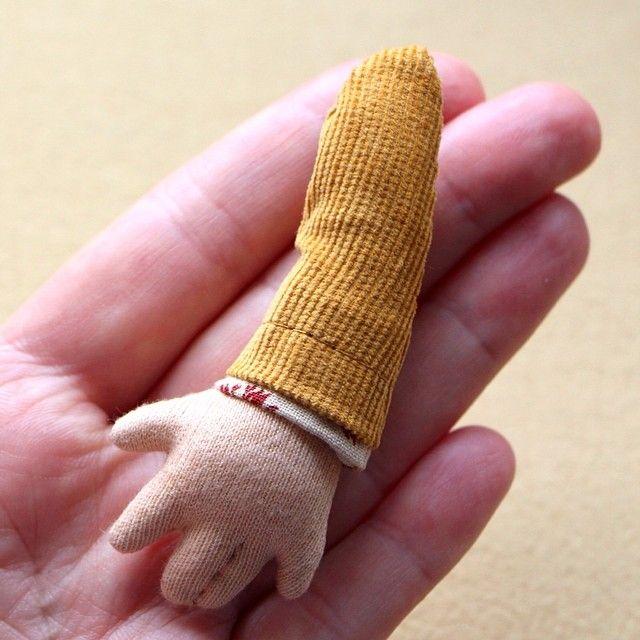 Теперь у куколок будут пальчики кукларучнойработы#игрушкаинтерьерная…