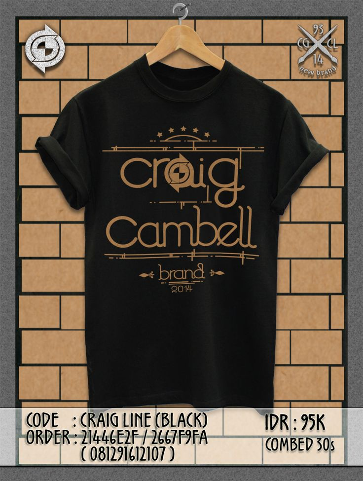 Code: Craig LINE #PromoEdition | IDR: 95K | Grab it fast!!! ;)