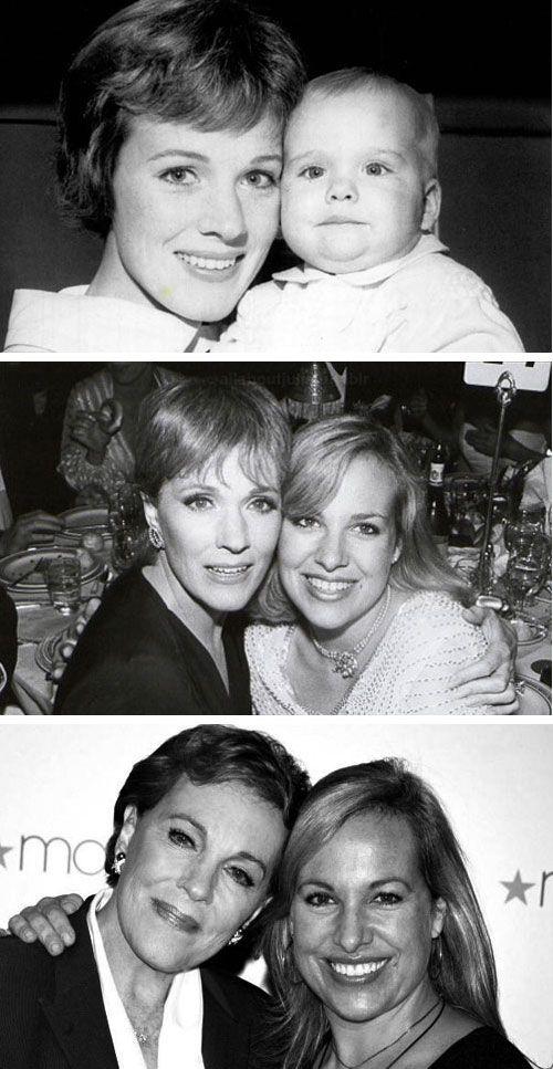 Julie Andrews with daughter Emma Walton Hamilton