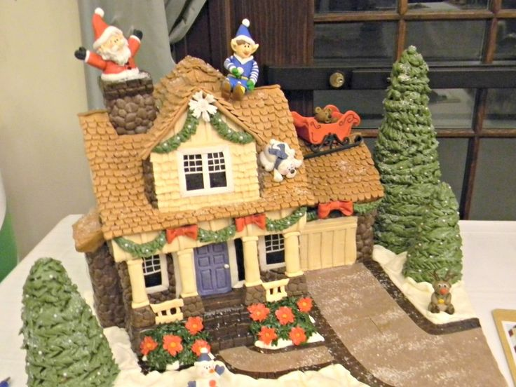 106 Best Gingerbread House Ideas Images On Pinterest Christmas