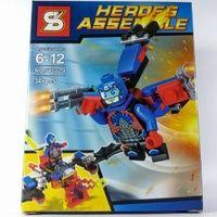 Bricks Lego Merk SY The Atom / Lego Bootleg / Lego SY Heroes Assemble