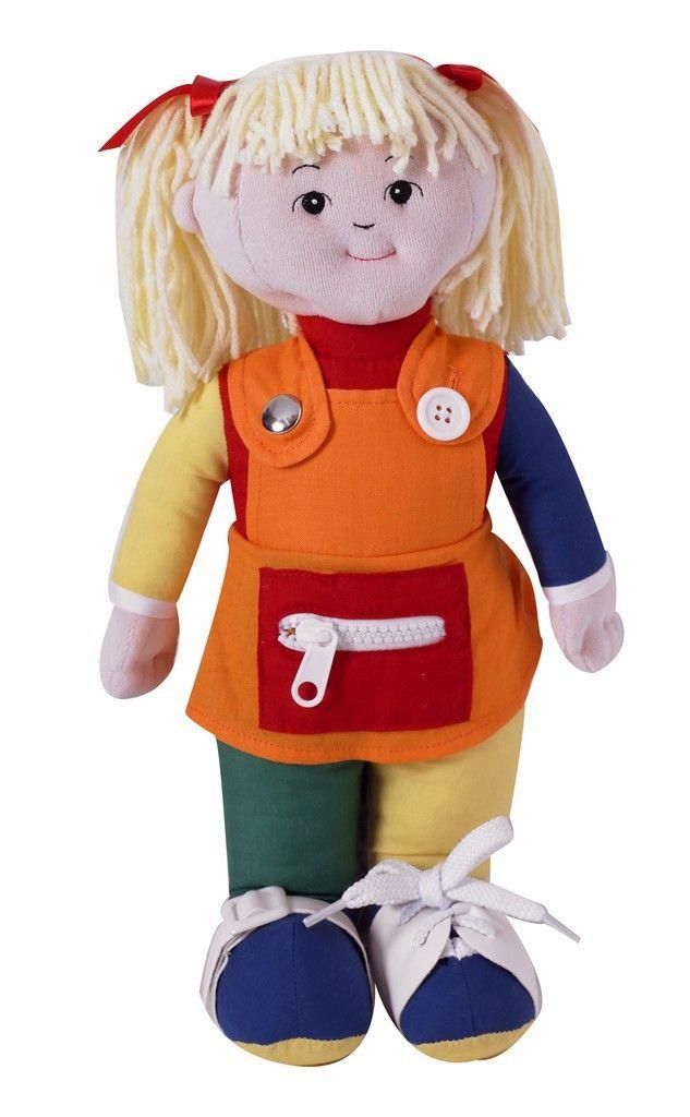Children's Factory Learn to Dress - Caucasian Girl CF100-856P