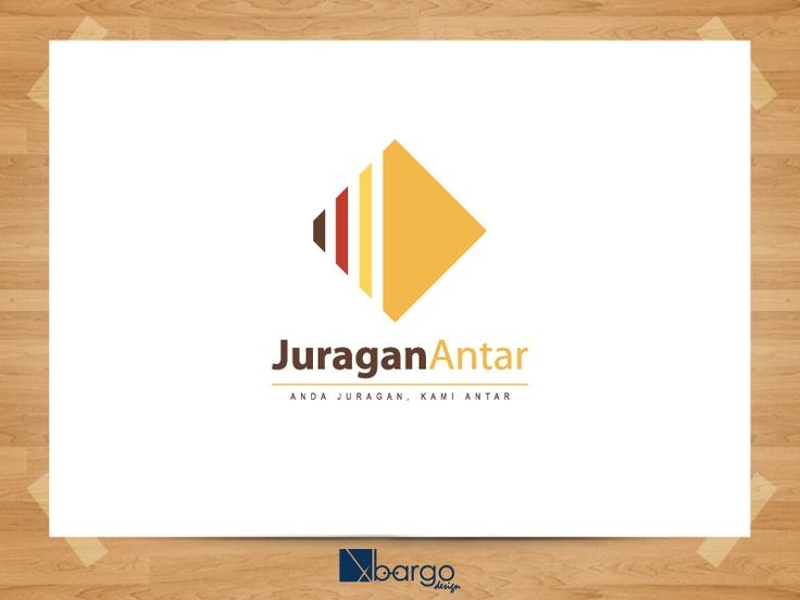 Desain Logo Juragan Antar 2