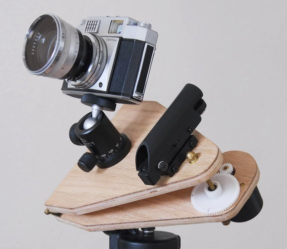garyseronik.com – Simple build for a tracking platform for astrophotography