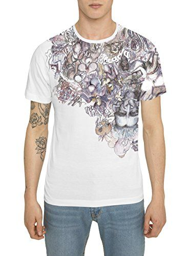 Camisetas de Moda Designer, Retro Fashion Rock para Hombre, Camiseta Blanca con Estampada - HUMORIST - Cuello redondo, Manga corta, Algodón, Alta calidad, Ropa Urbana Cool para Hombres S M L XL XXL #regalo #arte #geek #camiseta