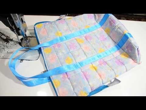 DIY BEAUTIFUL CARRY BAG /बाजार के लिए सुन्दर बैग - YouTube
