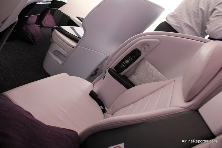 Air New Zealand's Business Premier Seat