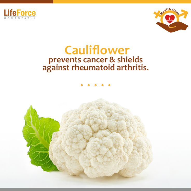 #Cauliflower is high in both fiber and water content, which helps to prevent constipation, maintain a healthy digestive tract and lower the risk of colon cancer.