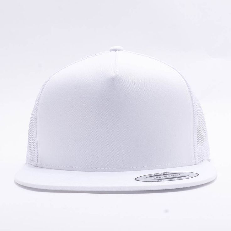 ... flexfit yupoong 6006 5 panel classic trucker snapback hat wholesale  white products pinterest snapbac ... c7ecdb0c304a