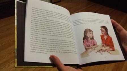 """Este livro é dedicado a todas as crianças que sonham acordadas e que em cada sorriso permaneça uma janela aberta de esperança, a todos os professores e bibliotecários que fazem da pedagogia encontros possíveis e à minha irmã Tahimy Estrada que faz do seu espaço na biblioteca de Jatibonico, na província de Sancti Spíritus em Cuba, um bom ponto de encontro onde prevalece a alegria, a descoberta e a cooperação.""""  A autora, Tania Estrada Morales"""