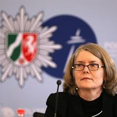 Police President of Bochum speaks at press conference on alleged murder of nine-year-old boy