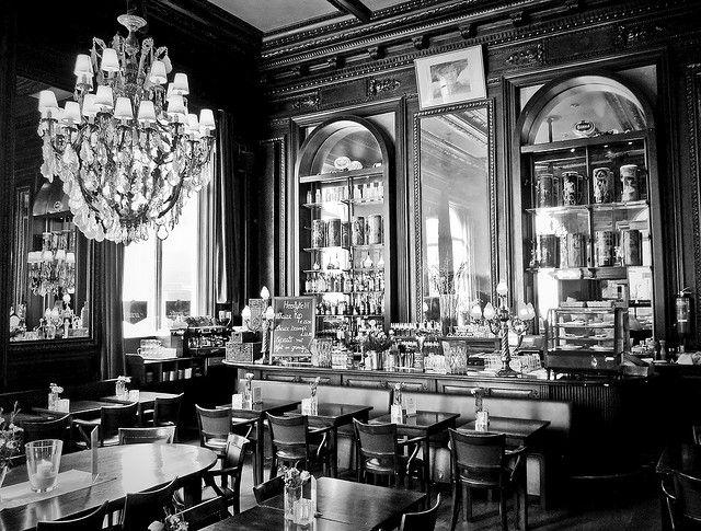 La Bonbonnière Cafe, Maastricht, Netherlands- best place to hide from the brutal winter wind