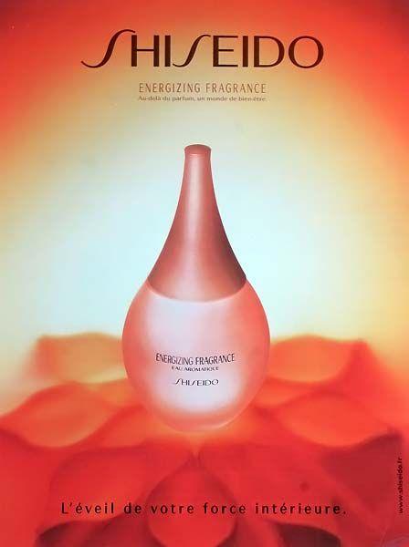 Advertising Energizing Fragrance by Shiseido