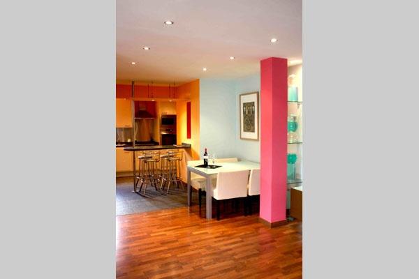 Comedor cocina - Apartamento La Mirada Líquida