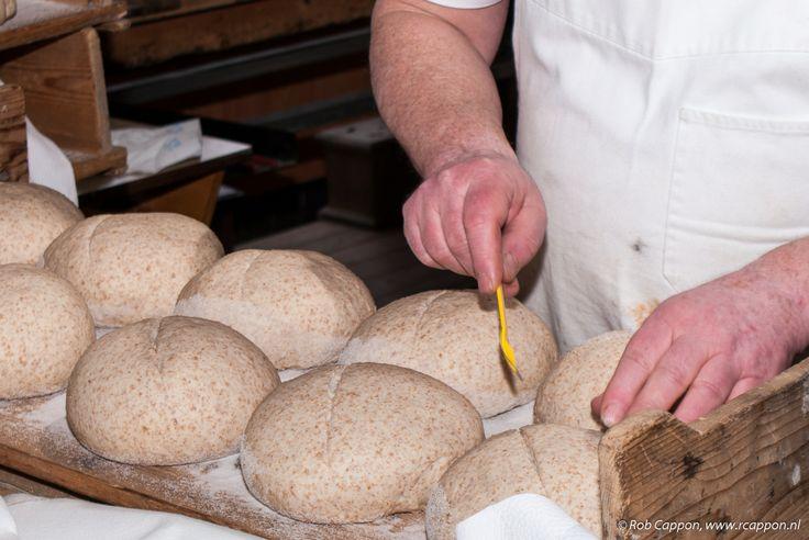 insnijden ambachtelijk brood