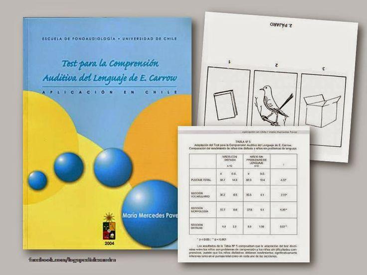 A través de la ventana: Logopedia : TECAL: Test para la Comprensión auditiva del lenguaje