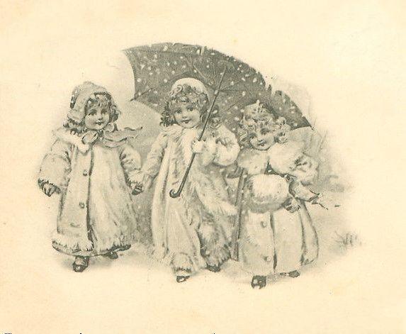 Квиллинга для, старинные открытки черно-белые