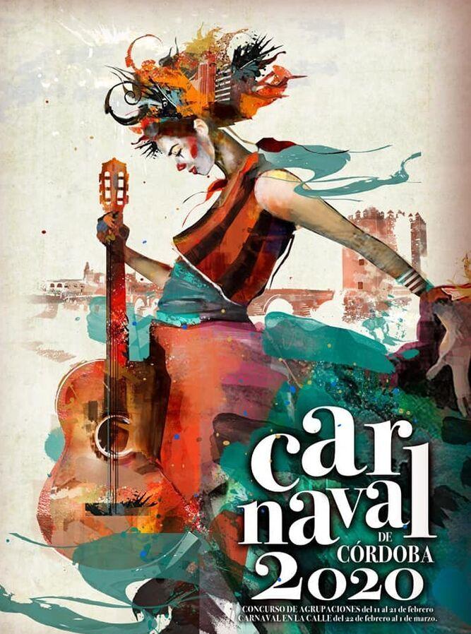 El Carnaval De Córdoba 2020 Ya Tiene Cartel Carteles De Carnaval Carnaval Cartel