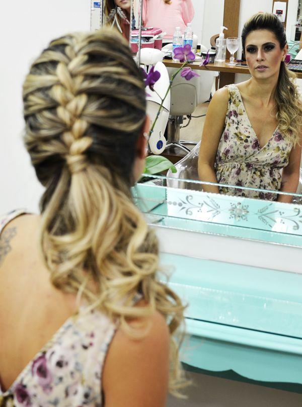 Cílios Postiços, Maquiagem e Penteado por Clever Azevedo do La Ville | My Best Wish Blog
