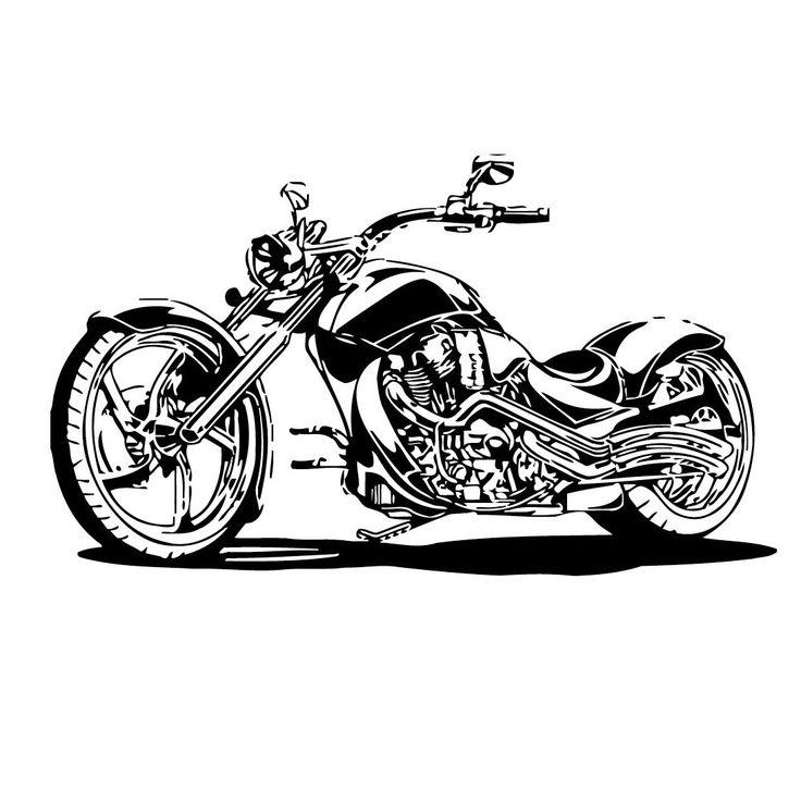Best Motorcycle Art Ideas On Pinterest Cars Motos Design - Car sticker decal for girlsgirl motorcycle promotionshop for promotional girl motorcycle on