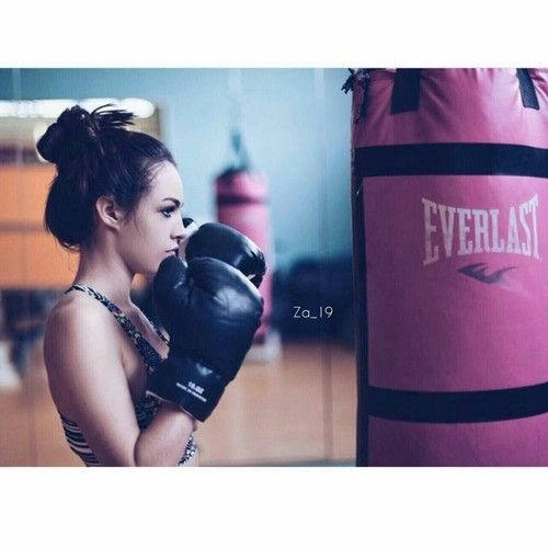 Image de boxing, girls, and grunge