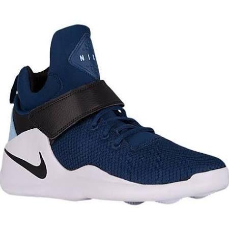Nike Kwazi Basketball Shoe - Men's Coastal Blue/Black/Bluecap Size 9