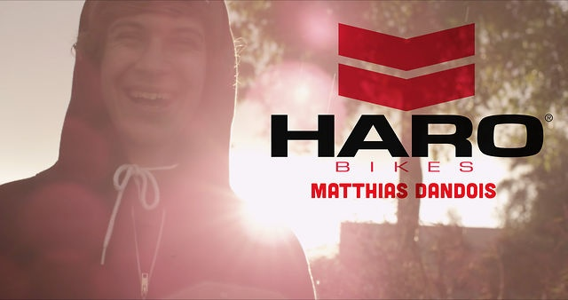 Haro Bikes - Matthias Dandois Welcome to the Team by Haro Bikes. In 2013 Haro had the privilege to have Matthias Dandois join the pro team.  If you dont know Matthias is pretty much making waves in flatland BMX and a welcomed member of the Haro BMX family.