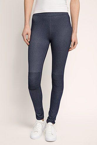 Esprit / Biker-Leggings im Jeans-Look