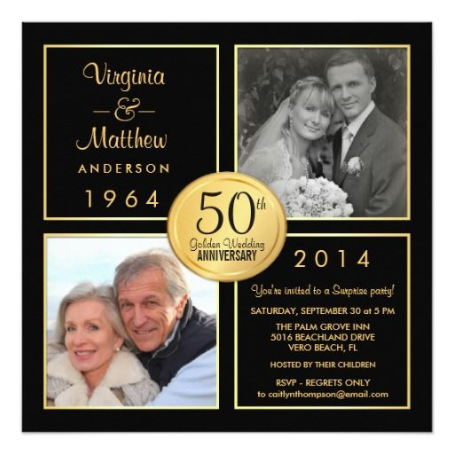 Review 50th Golden Wedding Anniversary Surprise Party 5.25x5.25 Square Paper Invitation Card We provide you all shopping site and all informations in our go to store link. You will see low prices on