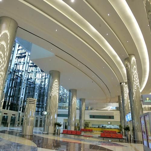 Dubai airport- what do their theatres look like if this is the airport ?