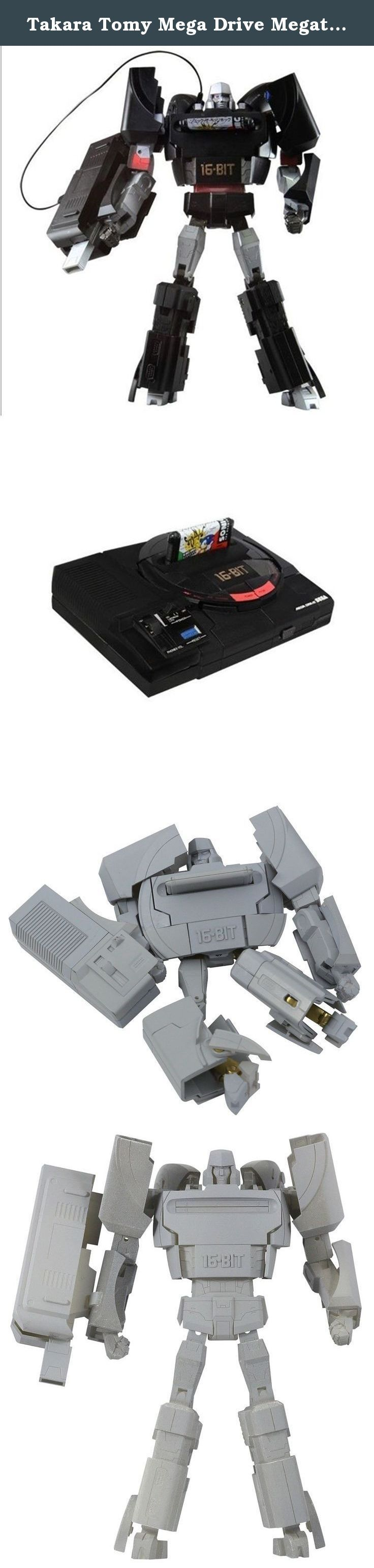 "Takara Tomy Mega Drive Megatron (SEGA Transformers) Action Figure. This is a special transformable figure by collaboration of SEGA and Takara Tomy. It stands approximately 7.5"" in robot form. SEGA Mega Drive was the one of the most popular video game hardware's in 1988. Now it's back in Megatron form! It's a must-have for SEGA & Transformers fans!."