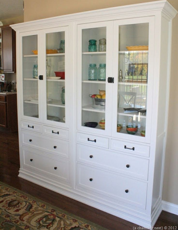 Turning ikea hemnes into built ins home pinterest for Hemnes wohnzimmer
