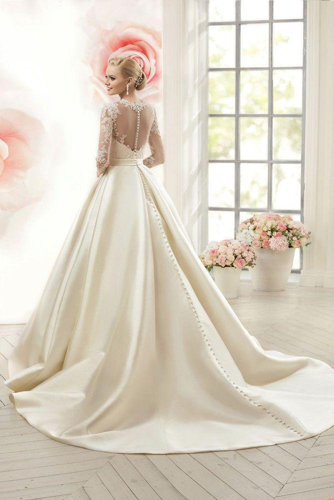 ZD 29 Abiti da Sposa vestito nozze sera wedding evening dress