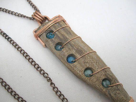 Treibholz Halskette Drift Holz Halskette Minnesota Halskette  #drift #halskette …