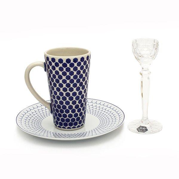 ZESTAW ŚNIADANIOWY 2 - CeramikaDesign - Lifestyle of Manufaktura for your home and table