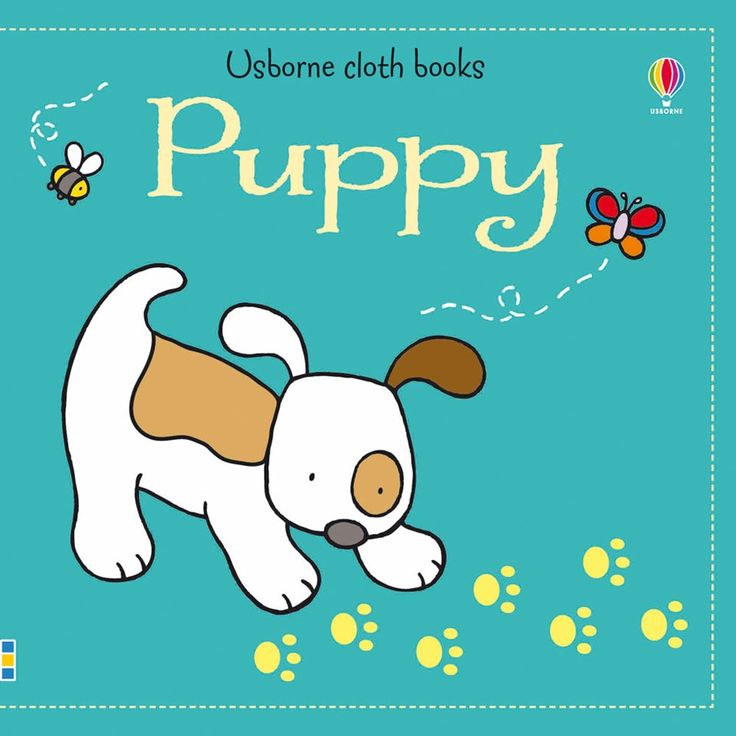 """Find out more about """"Puppy cloth book"""", write a review or buy online."""