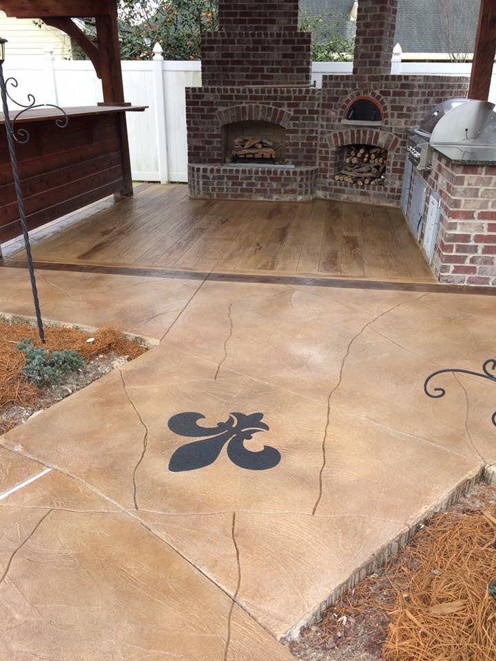 Cti Acrylistain System Concrete Decor Concrete Floors Concrete