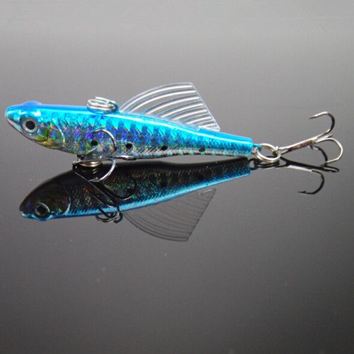 14g winter fishing lures hard bait vib with lead for Ice fishing rigs