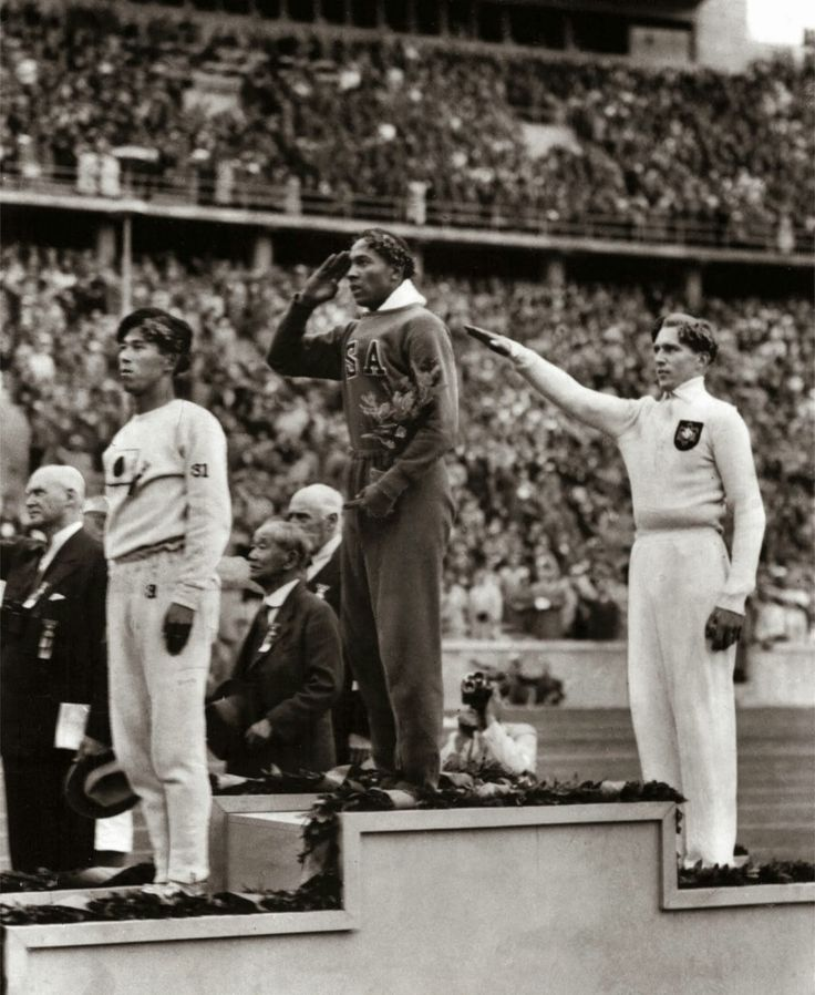 "Mr. Owens achievement of setting 3 world records and tying another in less than 1 hour at the 1935 Big Ten track meet has been called ""the greatest 45 minutes ever in sport""and has never been equaled. At the 1936 Summer Olympics in Berlin, Germany, Owens won international fame with four gold medals: 100 meters, 200 meters, long jump, and 4x100 meter relay."