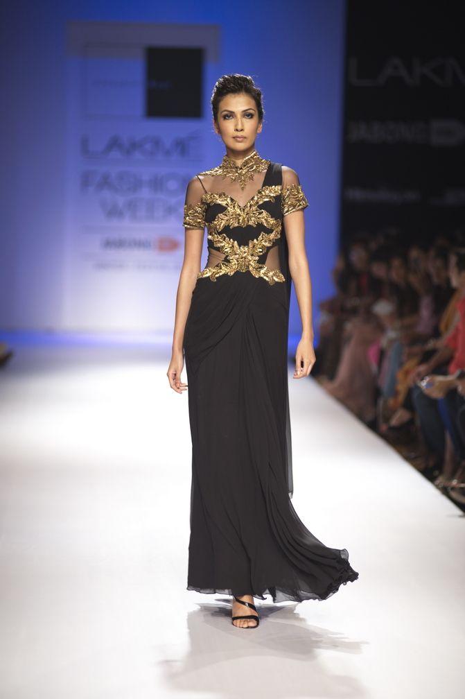 Sonaakshi Raaj Fall/Winter 2014-15   2014 & 15 India Fashions ...