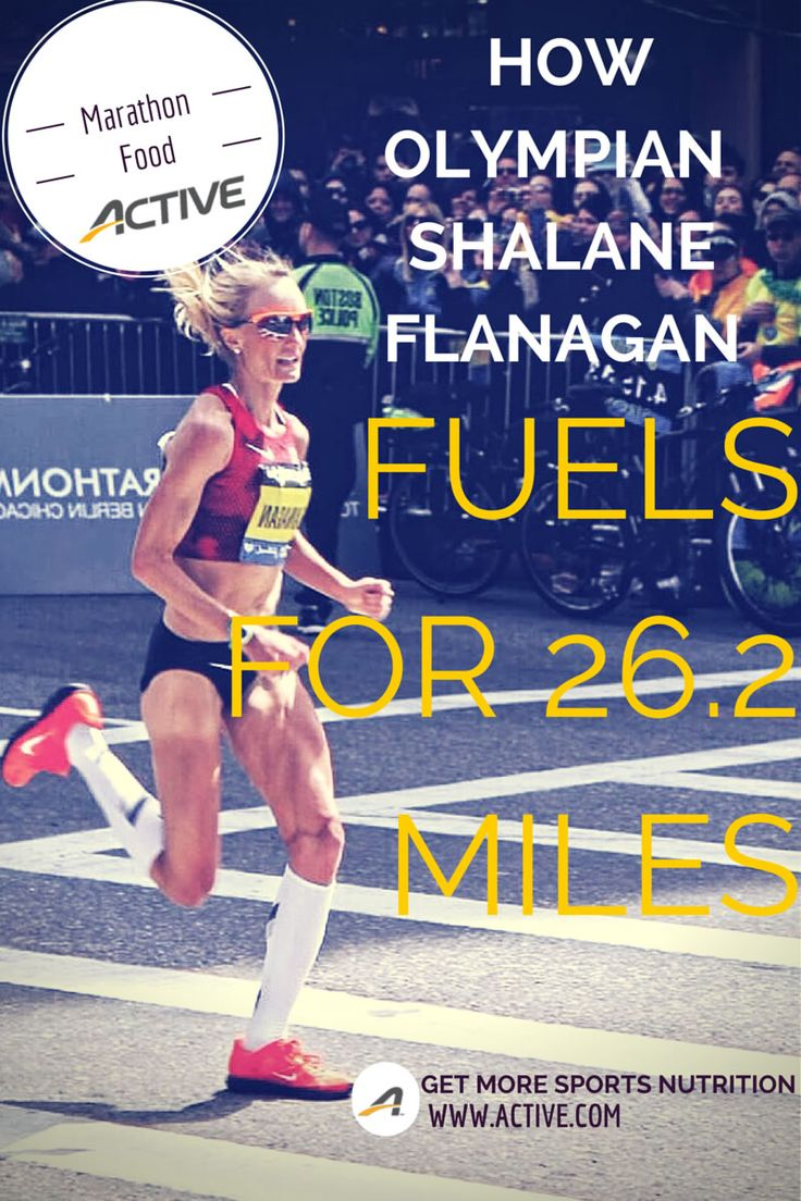 Marathon Food: How Olympian Shalane Flanagan Fuels for 26.2 Miles