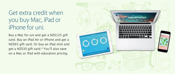 Apple Starts Offering Deals on Student Macs and iDevices in Australia and NZ