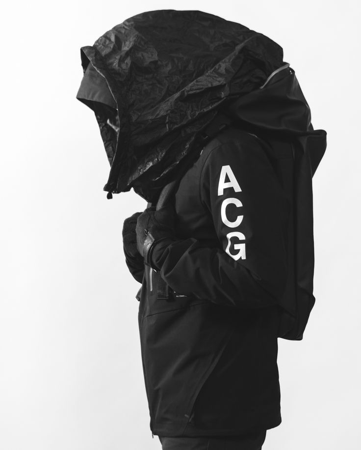 "rhubarbes: "" Terence 1. NikeLab ACG 2-in-1 Gore-Tex Jacket 2. Côte&Ciel Nile Backpack 3. White Mountaineering Primaloft Gloves Photography ©Keith Tio More Fashion here. """