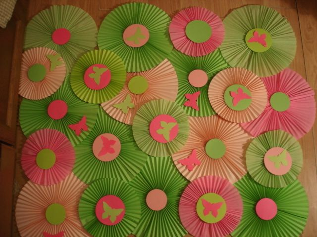 Awesome party ideas. Pink and green Woodland Animals Party!